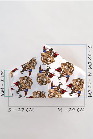 Masca bumbac cu filtru pentru copii - Ancora1