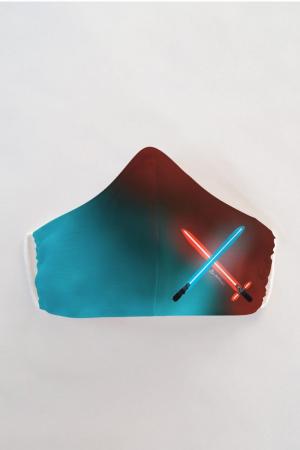 Masca bumbac cu filtru pentru copii - Star Wars0