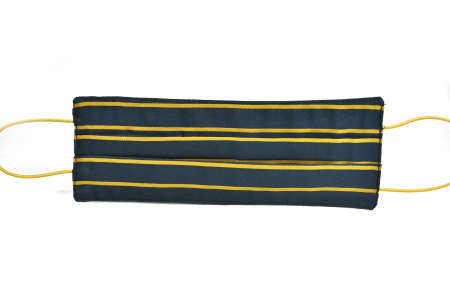 Masca bumbac pentru Copii  fara filtru- Dungi Galbene1