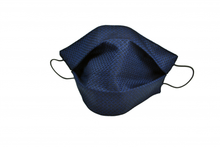 Masca bumbac pentru Copii fara filtru - Bleumarin Cool1