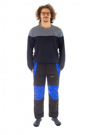 Pantaloni de drumetie captusiti de iarna - Black [1]