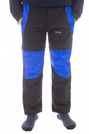 Pantaloni de drumetie captusiti de iarna - Black [0]