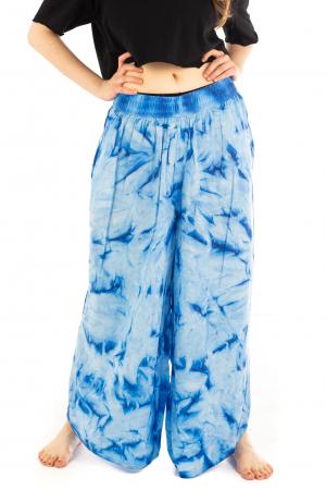 Pantaloni Tie-Dye - Albastru [1]