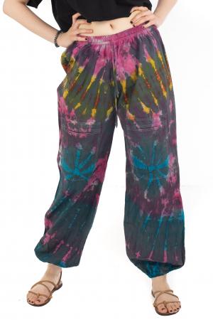 Pantaloni Tie-Dye - Multicolori [0]