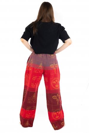 Pantaloni lejeri rosii - Heart of Hinduism [3]