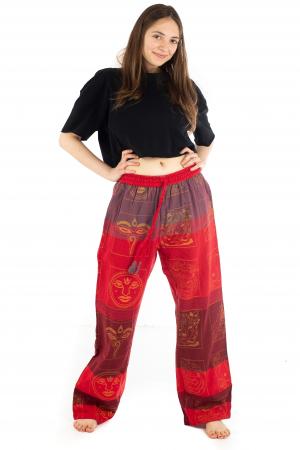 Pantaloni lejeri rosii - Heart of Hinduism [1]