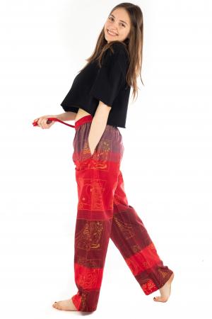 Pantaloni lejeri rosii - Heart of Hinduism [2]