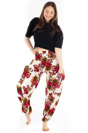Pantaloni cu banda elastica - Floarea-Soarelui [4]