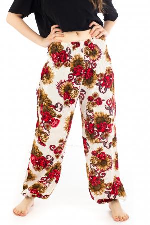 Pantaloni cu banda elastica - Floarea-Soarelui [0]