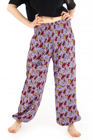 Pantaloni cu banda elastica - Trandafiri [0]