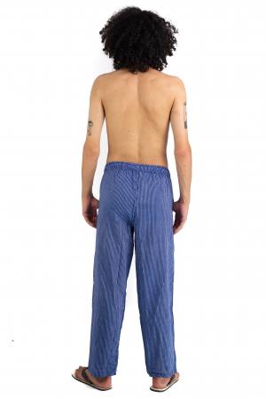 Pantaloni cu dungi - Bleumarin [3]