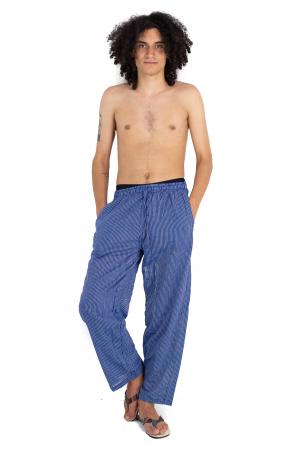 Pantaloni cu dungi - Bleumarin [6]