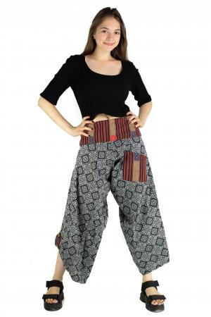Pantaloni cu motive etnice - model 7 [1]