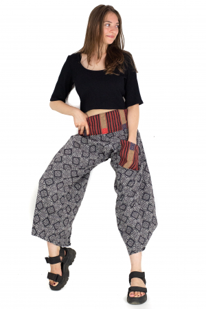 Pantaloni cu motive etnice - model 7 [4]