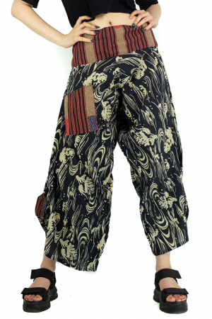 Pantaloni cu motive etnice - model 9 [0]