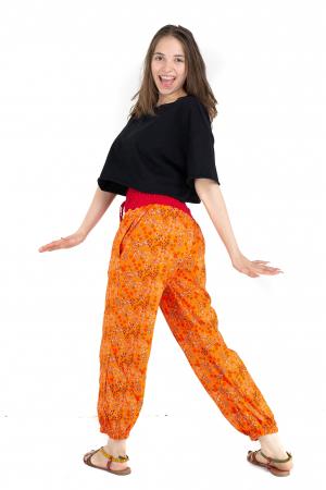 Pantaloni cu print - Grapefruit [4]