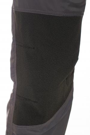 Pantaloni de drumetie - Gri cu negru5