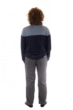 Pantaloni de drumetie - Gri cu negru3