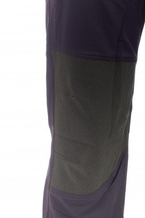 Pantaloni de drumetie - Verde cu negru4