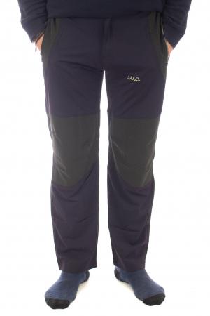 Pantaloni de drumetie - Verde cu negru0