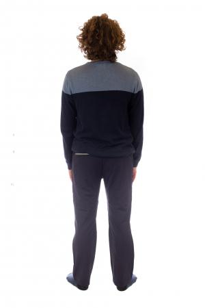 Pantaloni de drumetie - Verde cu negru3