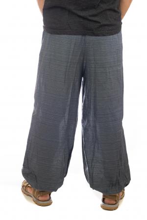Pantaloni din bumbac cu buzunar exterior - Model 33