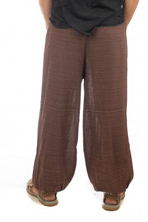 Pantaloni din bumbac cu buzunar exterior - Model 63