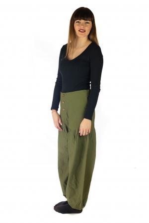 Pantaloni din bumbac - Verde [1]
