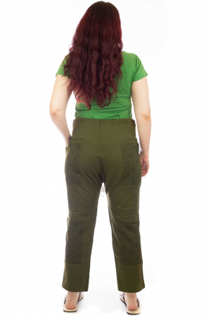 Pantaloni lejeri din bumbac - Model 1 A7315