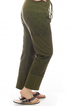 Pantaloni lejeri din bumbac - Model 1 A7313