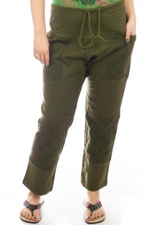 Pantaloni lejeri din bumbac - Model 1 A7311