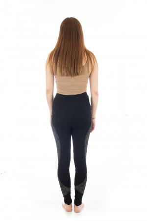 Pantaloni elastici din bumbac pentru Yoga - Model 45