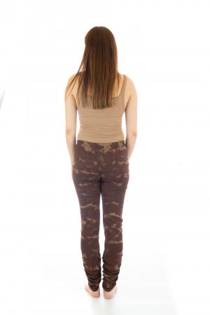Pantaloni elastici din bumbac pentru Yoga - Model 65