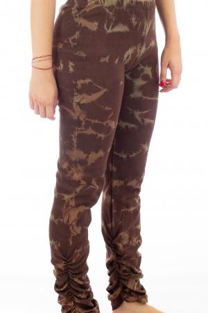 Pantaloni elastici din bumbac pentru Yoga - Model 64