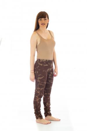Pantaloni elastici din bumbac pentru Yoga - Model 63