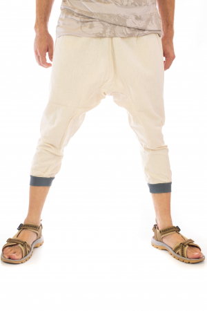 Pantaloni tip salvari trei sferturi - Model 11