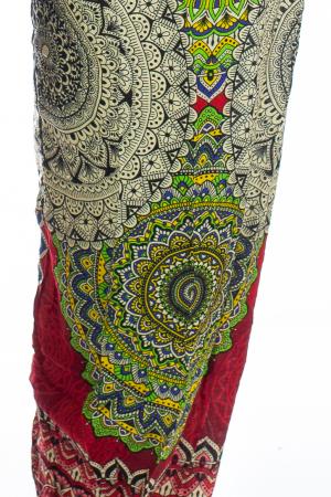 Pantaloni Jasmine cu print oriental - Model 31