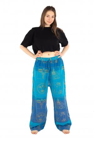 Pantaloni lejeri albastri - Heart of Hinduism [1]