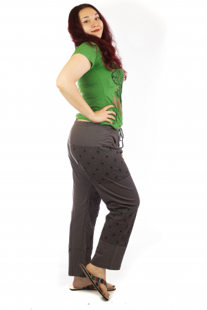 Pantaloni lejeri din bumbac - Model 4 A7312