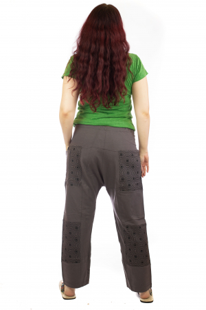 Pantaloni lejeri din bumbac - Model 4 A7314