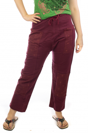 Pantaloni lejeri din bumbac - Model 5 A7311