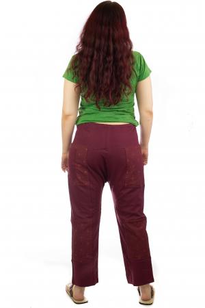 Pantaloni lejeri din bumbac - Model 5 A7314
