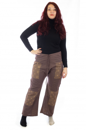 Pantaloni lejeri din bumbac - Model 7 A7311