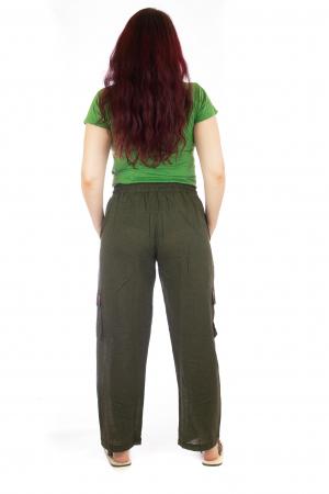 Pantaloni lejeri - Etno Verde3