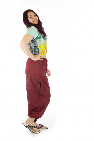 Pantaloni lejeri - Rosii1