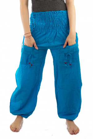 Pantaloni Lejeri - Turcoaz1
