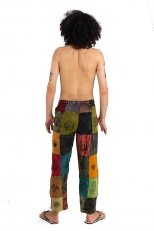 Pantaloni lejeri unicat - Patches - Model 56 [3]