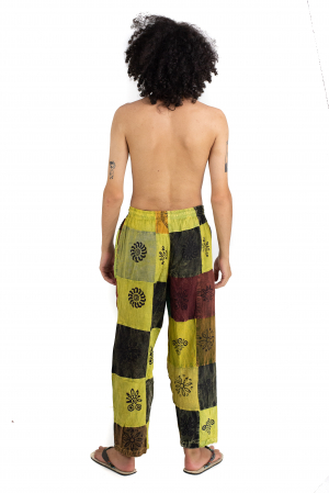 Pantaloni lejeri unicat - Patches - Model 61 [3]
