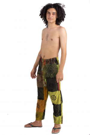 Pantaloni lejeri unicat - Patches - Model 61 [2]