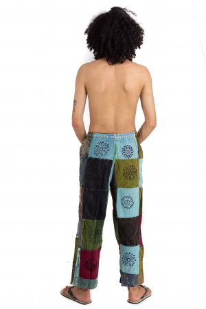 Pantaloni lejeri unicat marime M - Patches - Model 67 [3]